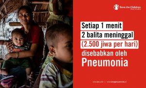 data pneumonia di indonesia, stop pneumonia indonesia, pneumonia id